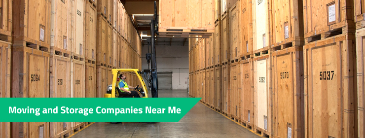 Moving and Storage Companies Near Me